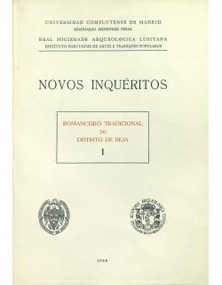 I. Romanceiro tradicional do distrito de Beja, I.