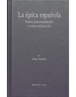 La épica española. Nueva documentación y nueva evaluación.