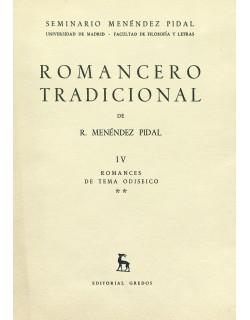 IV. Romances de tema odiseico, II.