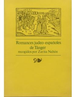 Romances judeo-españoles de Tánger. Recogidos por Z. Nahón.