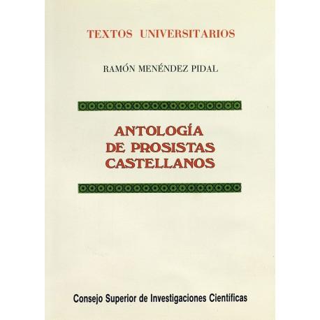 Antología de prosistas castellanos