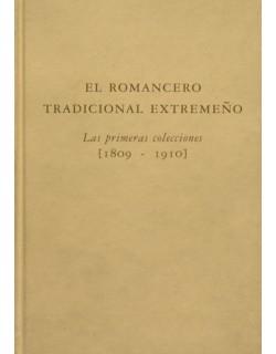 El romancero tradicional Extremeño. Las primeras colecciones (1809-1910).