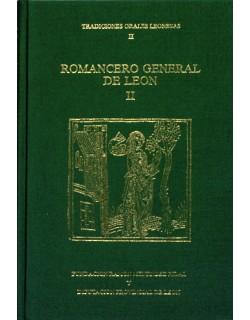 """Romancero general de León II. Antología 1899-1989. """"Tradiciones orales leonesas"""" II."""