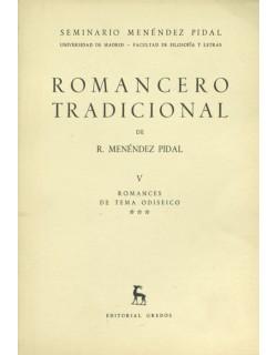 V. Romances de tema odiseico, III.