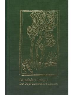 De Balada y Lírica, 1. Tercer Coloquio Internacional del Romancero.
