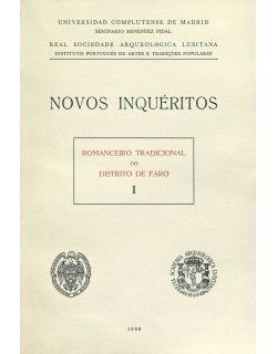 II. Romanceiro tradicional do distrito de Faro, I.