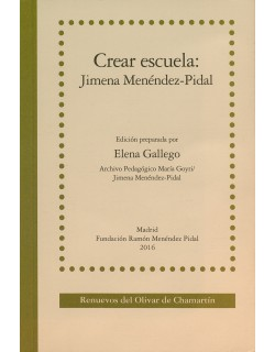 Crear escuela: Jimena Menéndez-Pidal